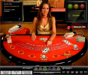 Live Dealer Blackjack 1