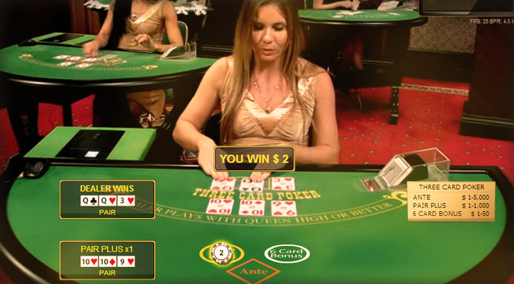 Live Dealer Poker - How It Works