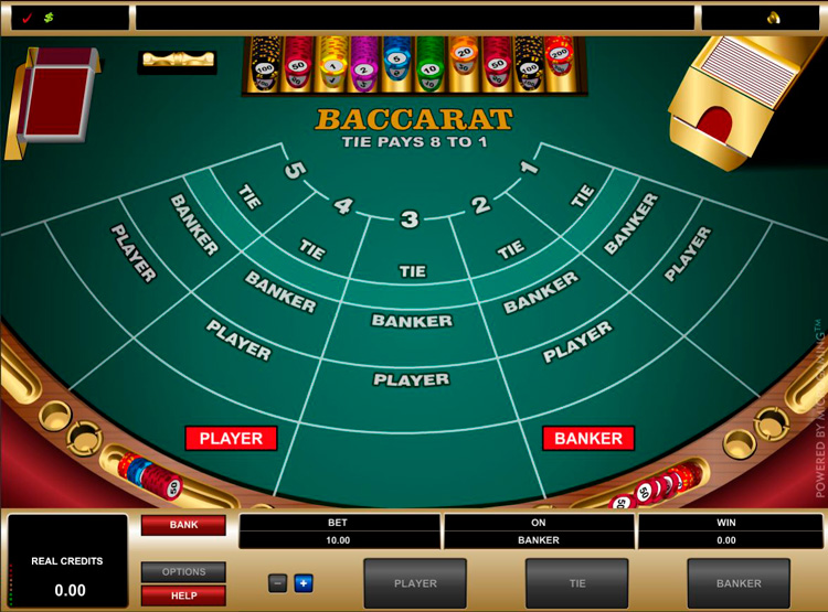 baccarat casino game how to play
